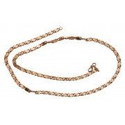 Gold plated chain for men n women-JB2040