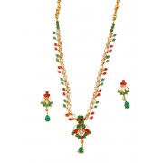 Gold plated Diamond Necklace for Ladies